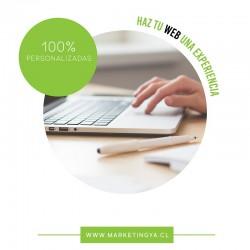 Página web 100% Personalzada